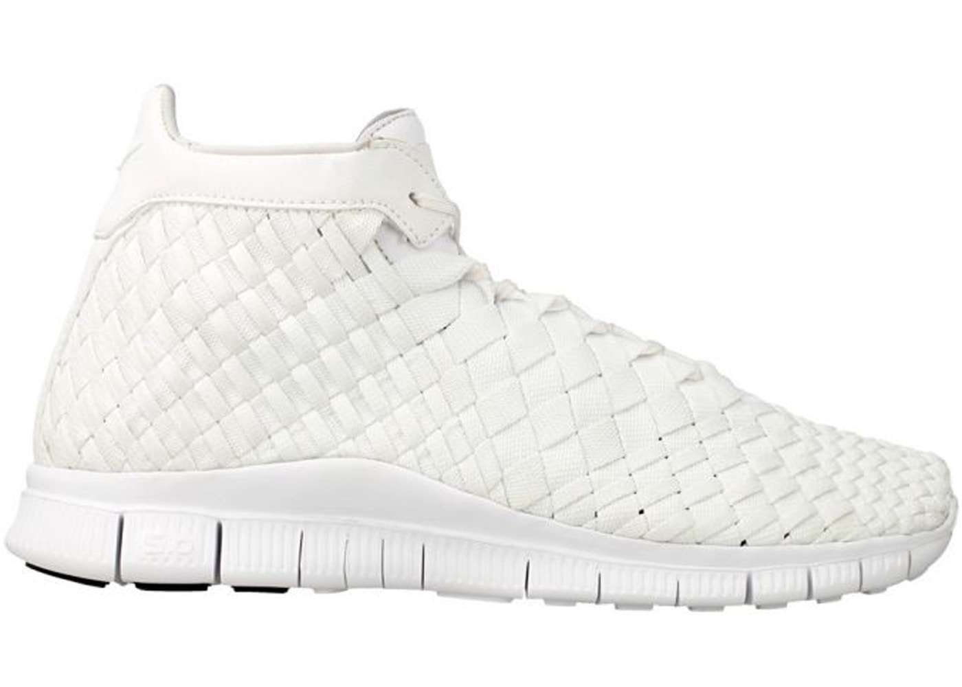 online store e15cc d7bb7 Nike Free Inneva Woven Mid White