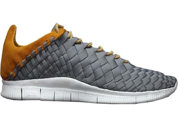 hot sale online 8004d 807a9 Nike Free Inneva Woven Mine Grey Laser Orange - 579916-008