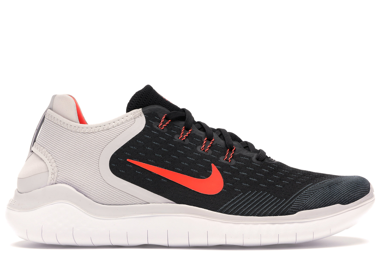 Nike Free RN 2018 Black Vast Grey