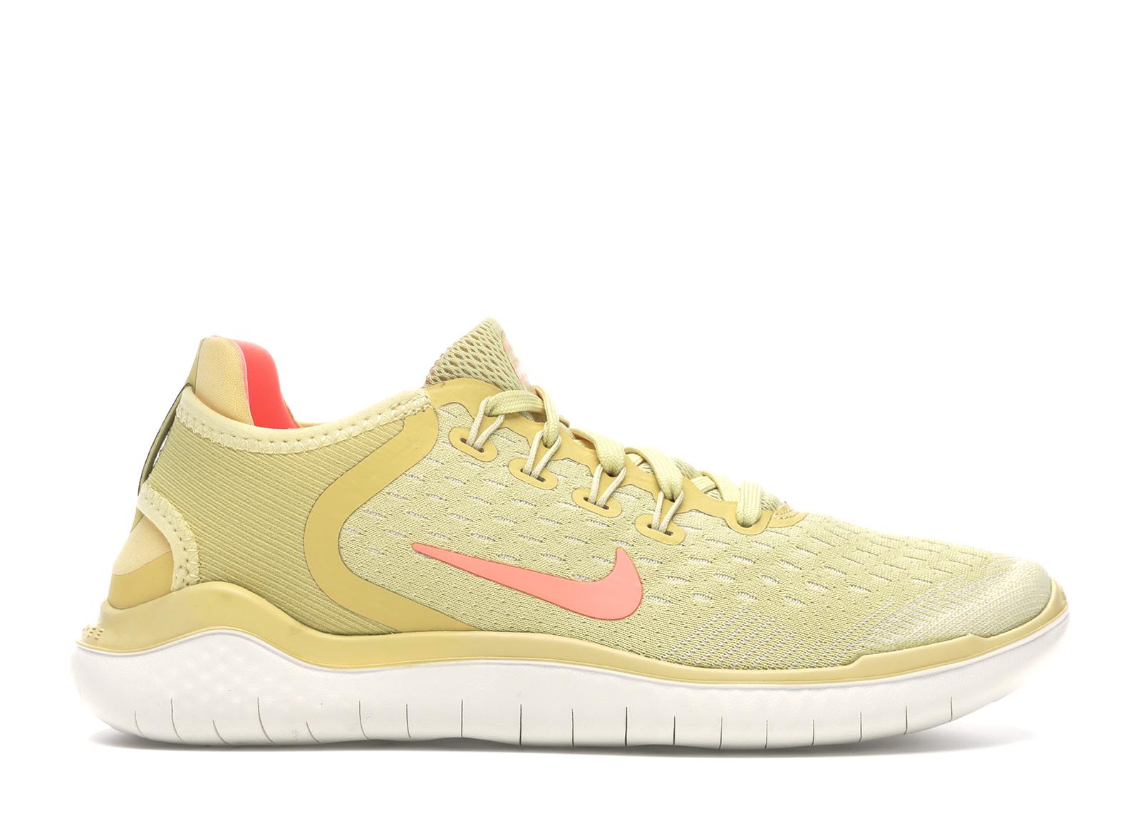 Nike Free RN 2018 Summer Lemon Wash (W