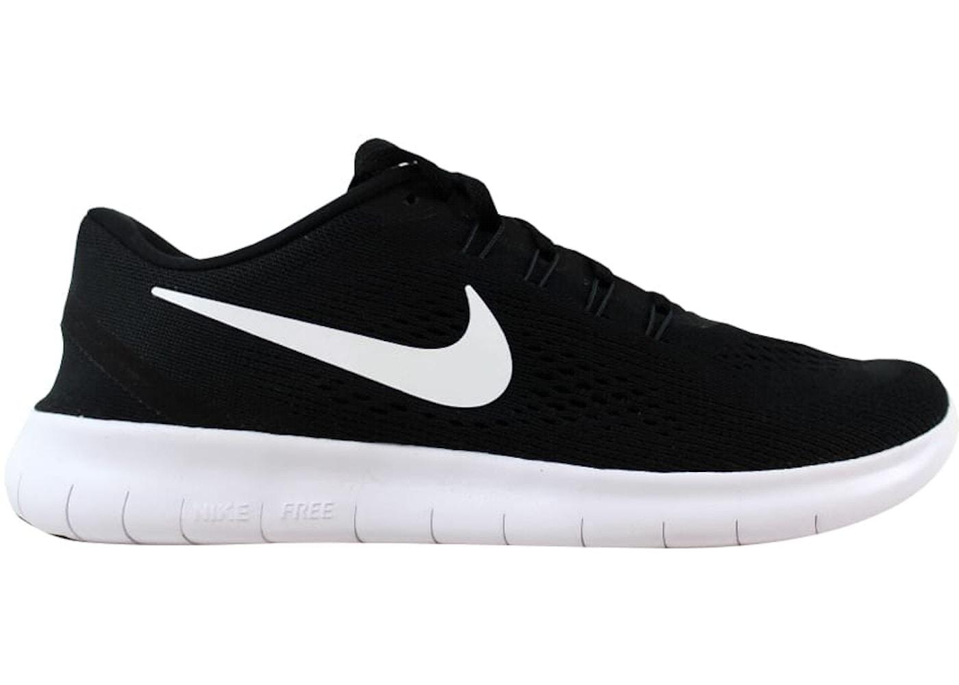 Nike Free RN Black White-Anthracite - 831508-001 39904b9fa387