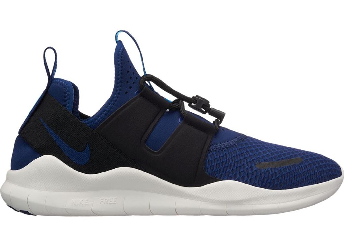 46202a9bfa3de Nike Free RN CMTR 2018 Blue Void Black - AA1620-400