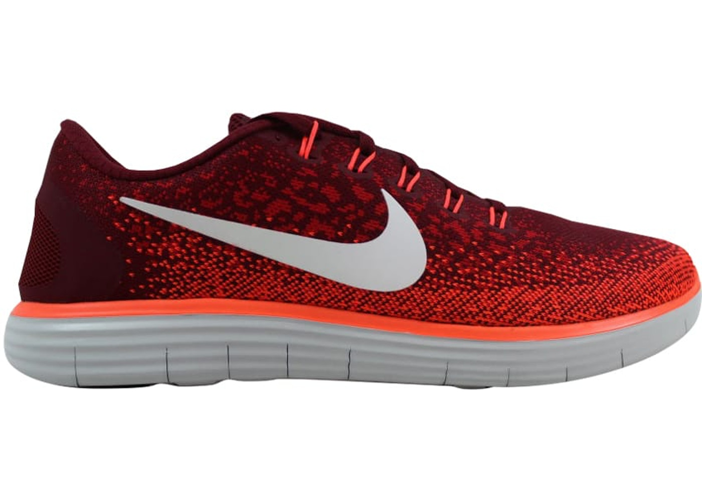 323327bc1356 Nike Free RN Distance Team Red Off White-University Red - 827115-601