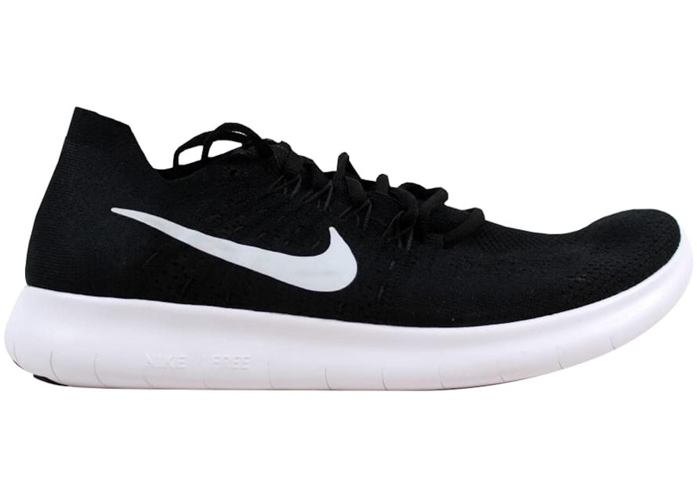 super popular ce2e1 f4150 Nike Free RN Flyknit 2017 Black/White-Anthracite (W)