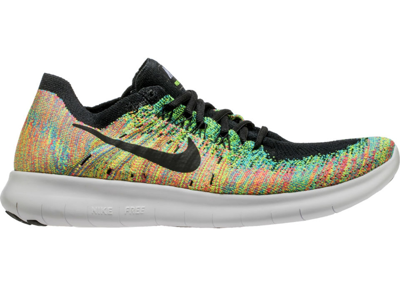 finest selection ff3aa 9211c Nike Free RN Flyknit 2017 Multi-Color