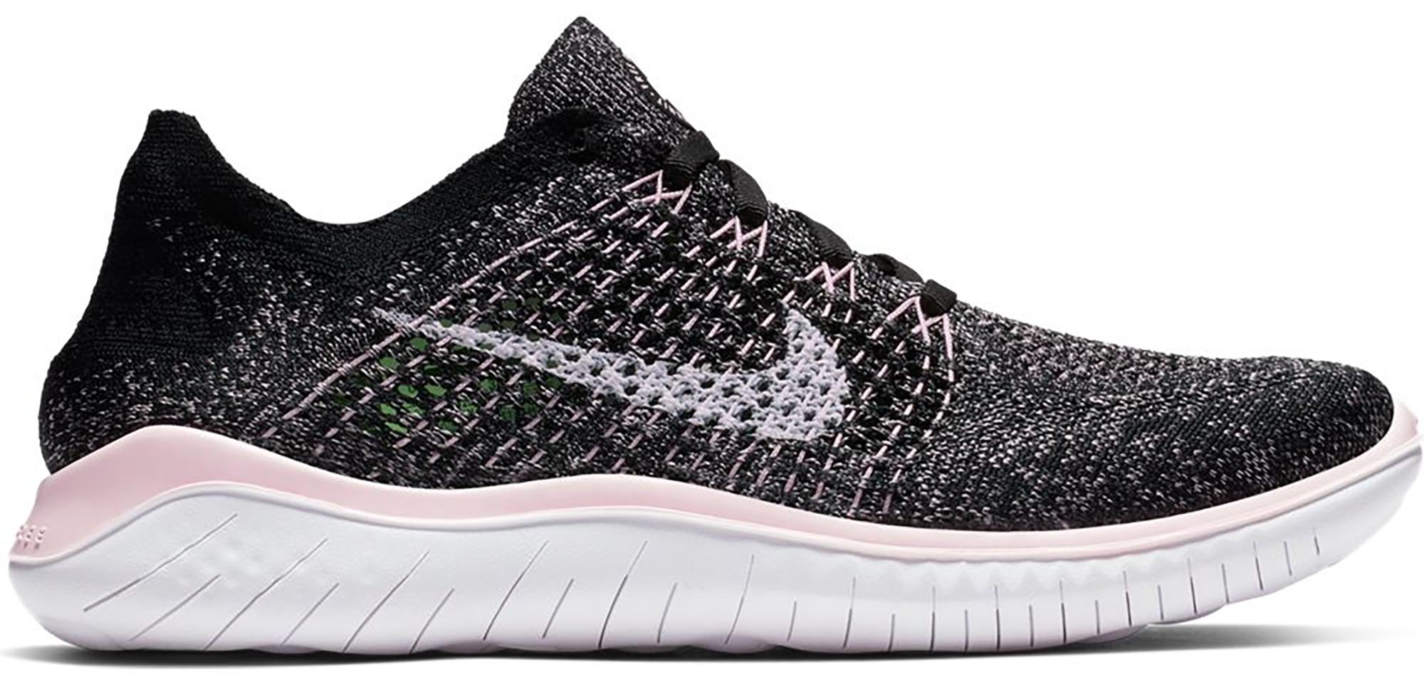 Nike Free RN Flyknit 2018 Black Pink