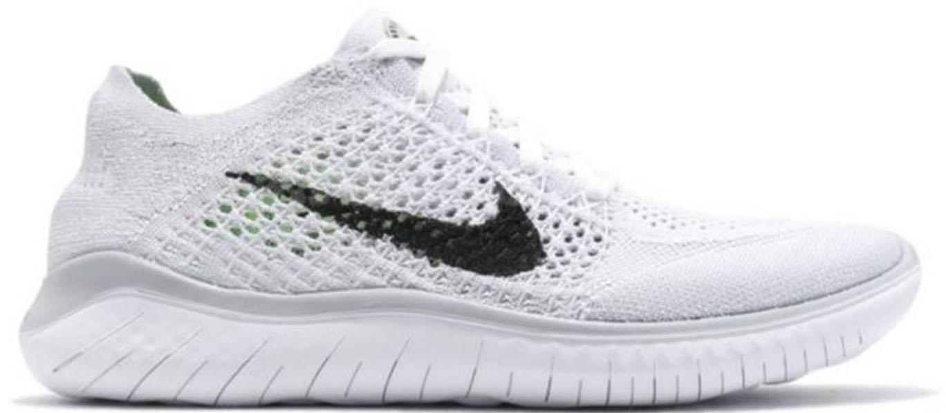 Nike Free RN Flyknit 2018 White Pure