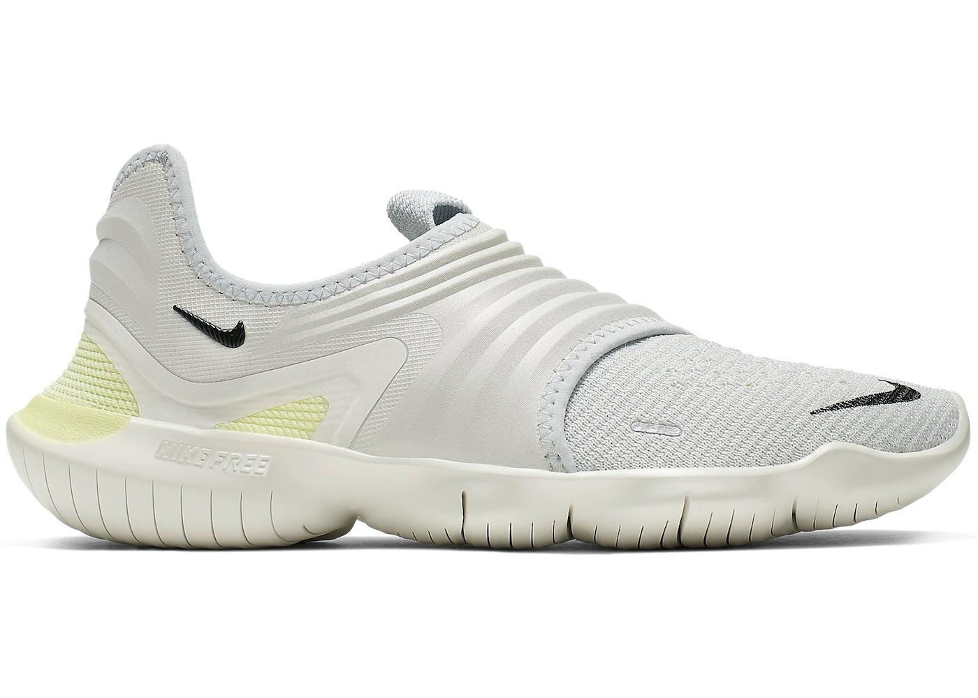 df4c96a7991a3 Nike Free RN Flyknit 3.0 Pure Platinum Luminous Green (W) - AQ5708-004