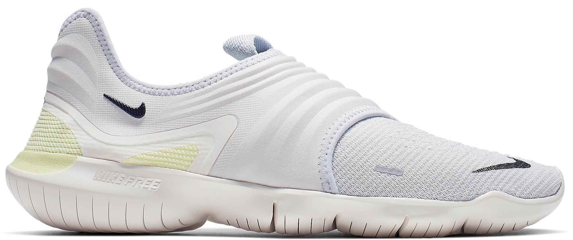 Nike Free RN Flyknit 3.0 Pure Platinum