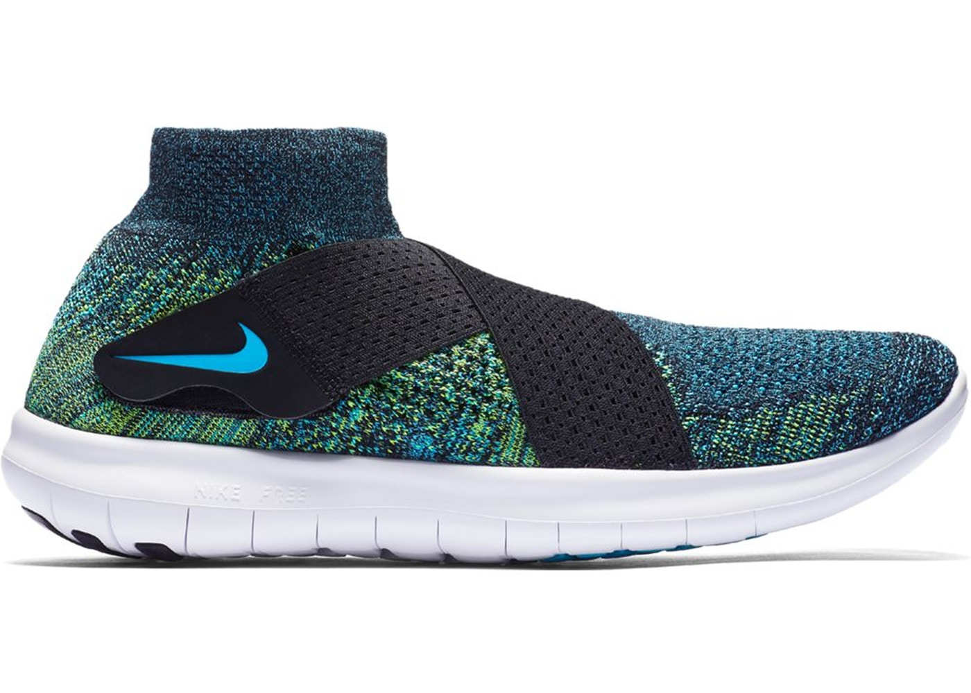Nike Free Rn Motion Flyknit 2017 Multi Color 880845 004
