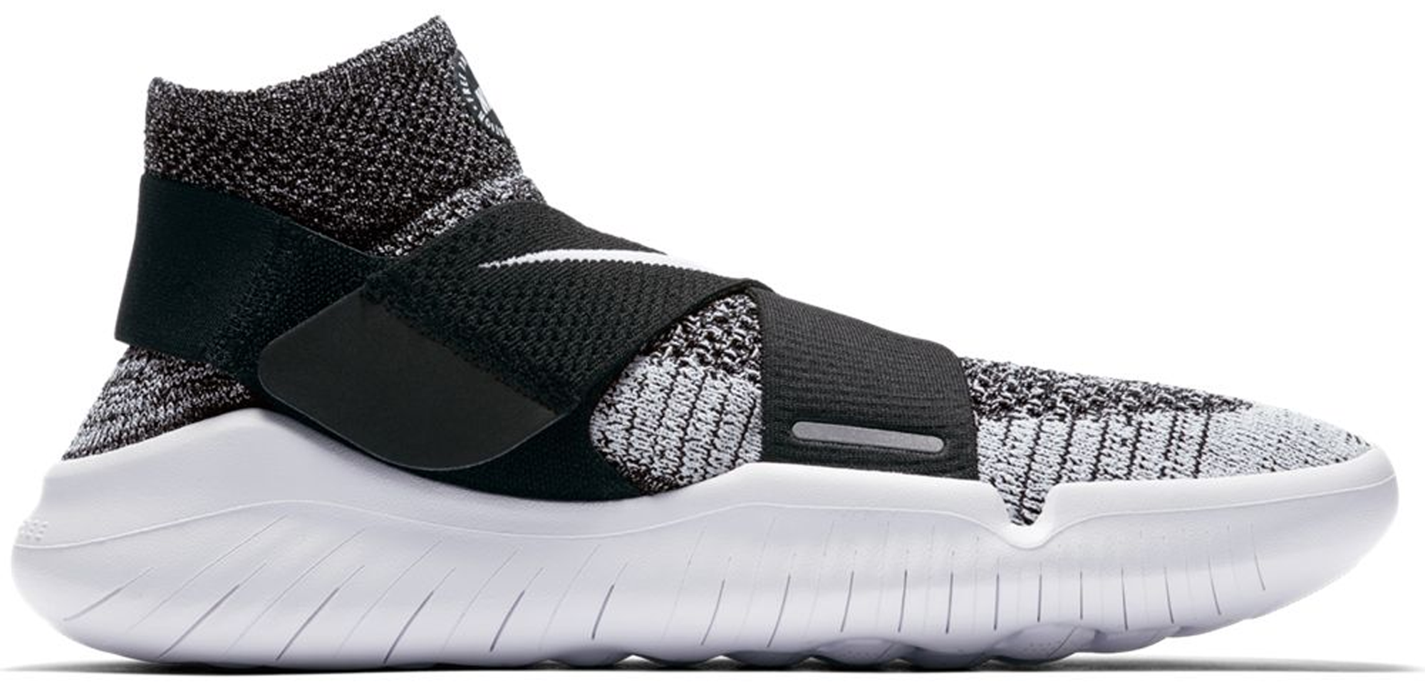 Nike Free RN Motion Flyknit 2018 Oreo