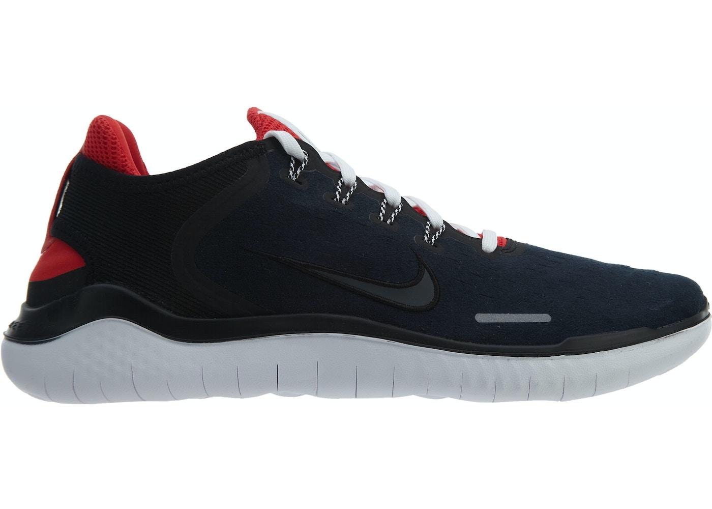 Nike Free Rn 2018 Dna Black Anthracite-Speed Red - AH7870-001 b9adf843b