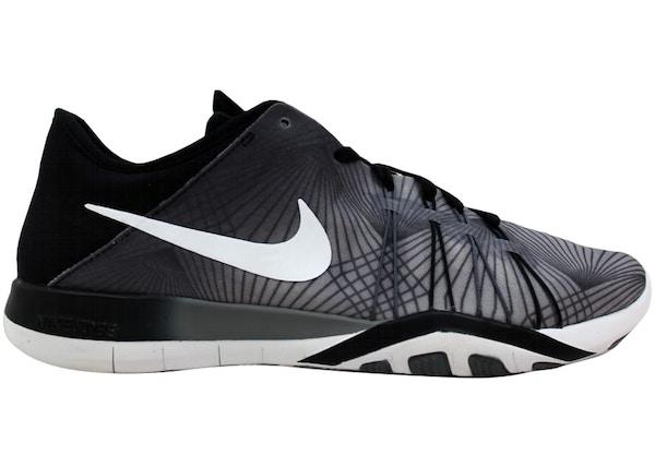 online retailer bd701 c7171 Nike Free TR 6 Print BlackWhite-Cool Grey (W) - 833424-005
