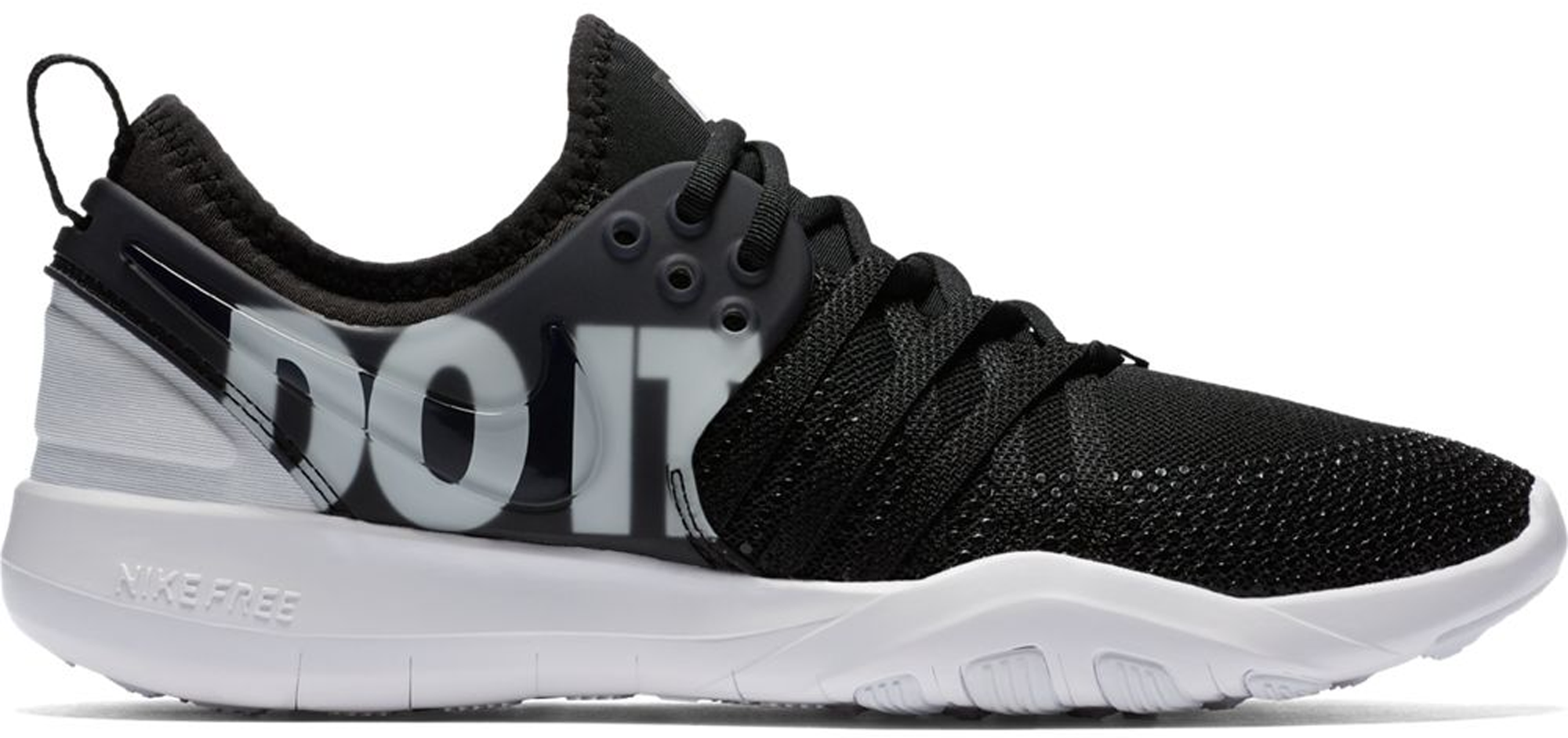 Nike Free Tr 7 Premium Just Do It Black