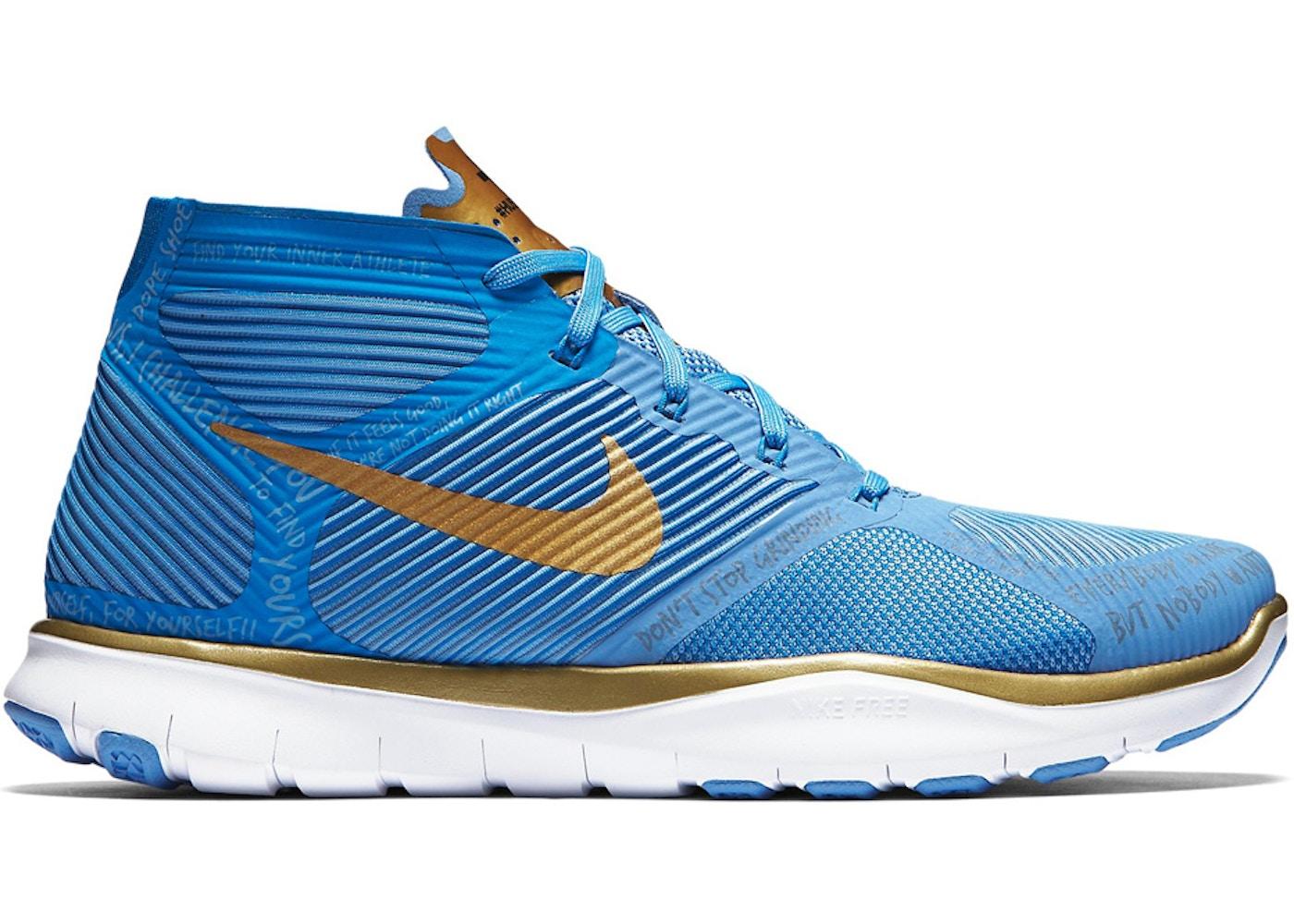 59b1d0fd34c8 Sell. or Ask. Size  9.5. View All Bids. Nike Free Train Instinct Hustle Hart  Blue