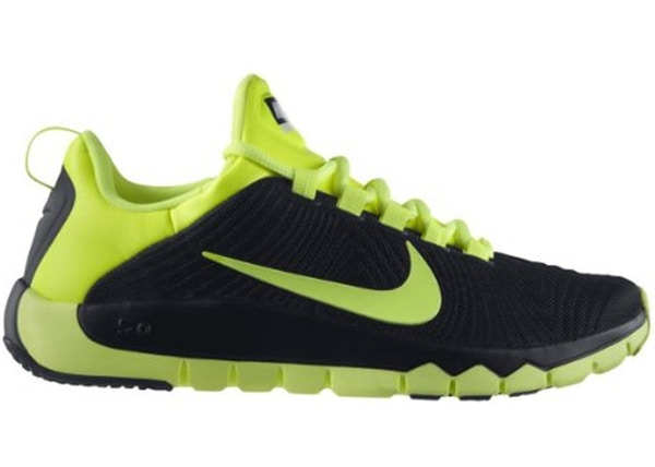 finest selection 1013d 95bb9 Nike Free Trainer 5.0 Black Volt - 644671-070