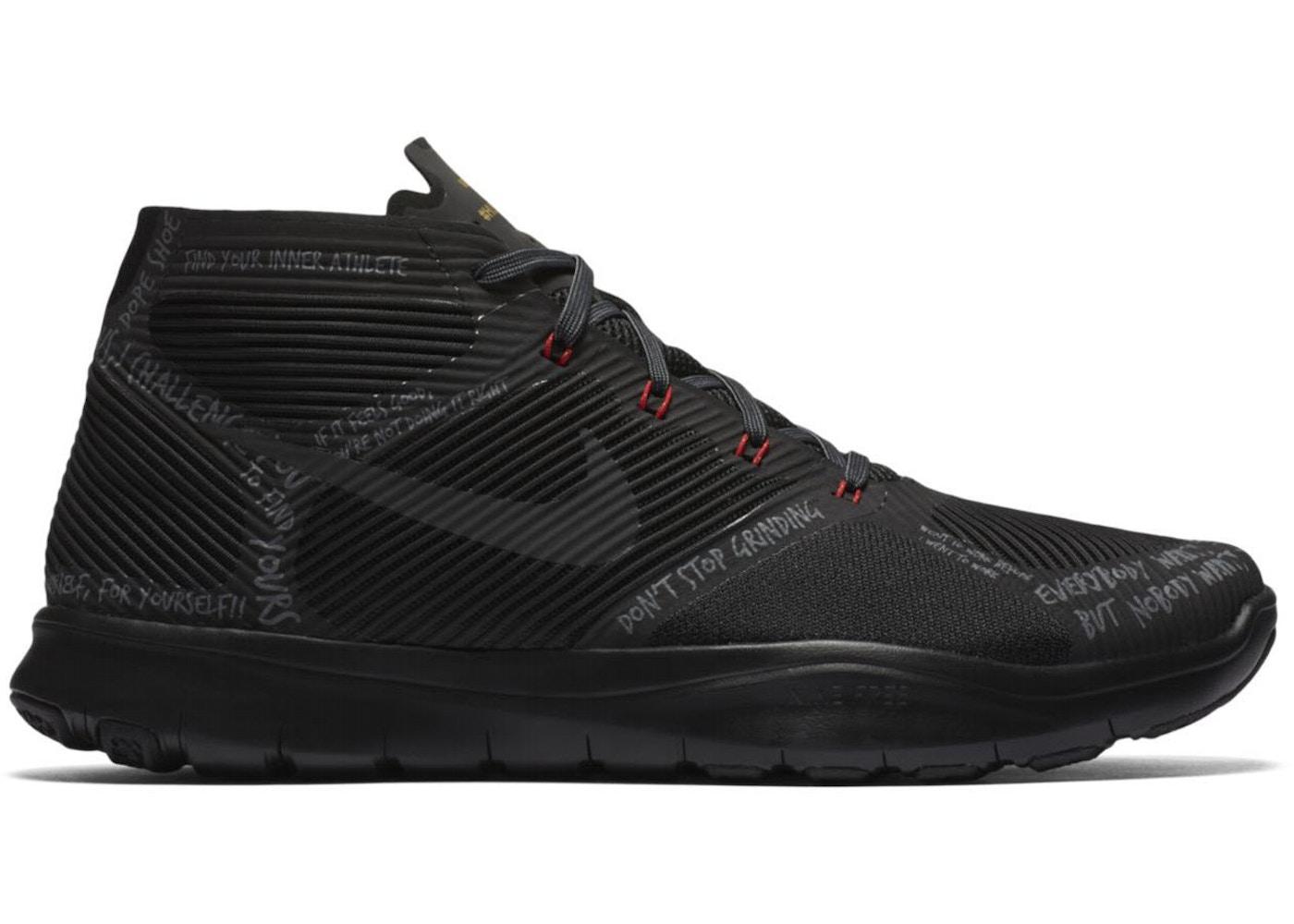 Nike Free Train Instinct Hustle Hart Black - 848416-001 e6619a69f