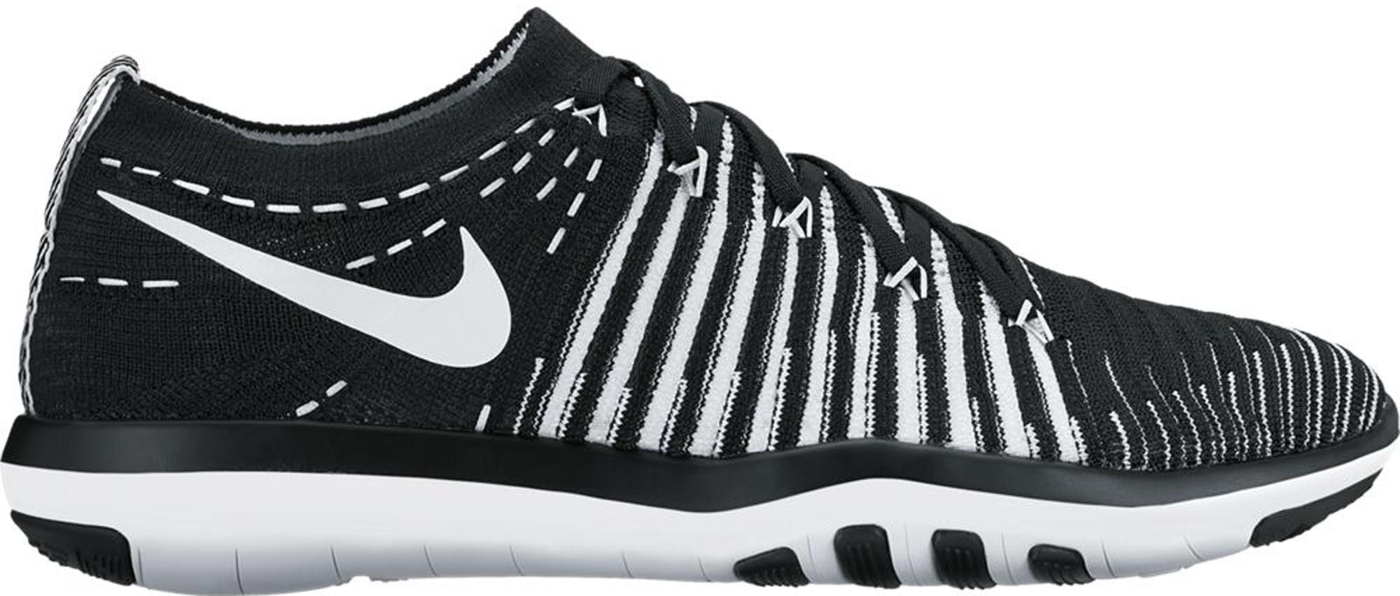 Nike Free Transform Flyknit Black White