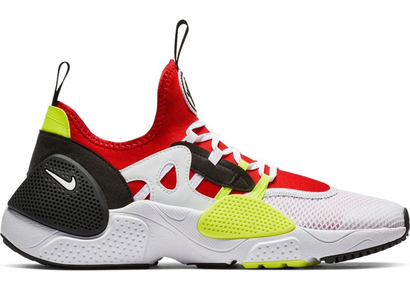 newest 5dfc5 aec14 Nike Huarache Edge Txt White University Red Volt Black