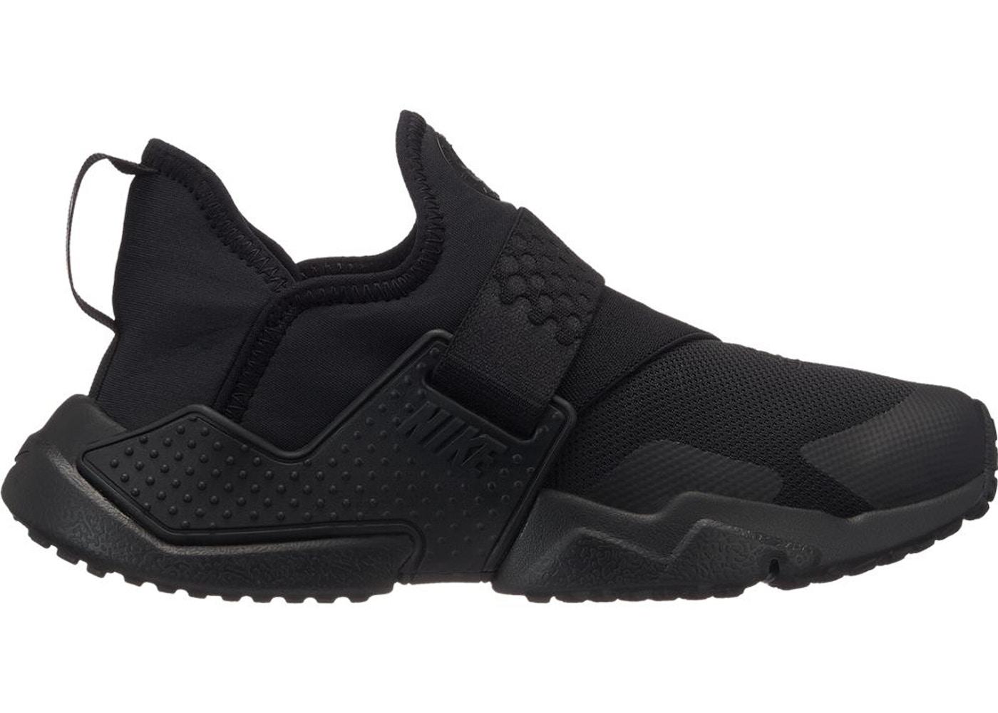 the best attitude cc6d2 58bab Nike Huarache Extreme Triple Black (GS) - AQ0575-004