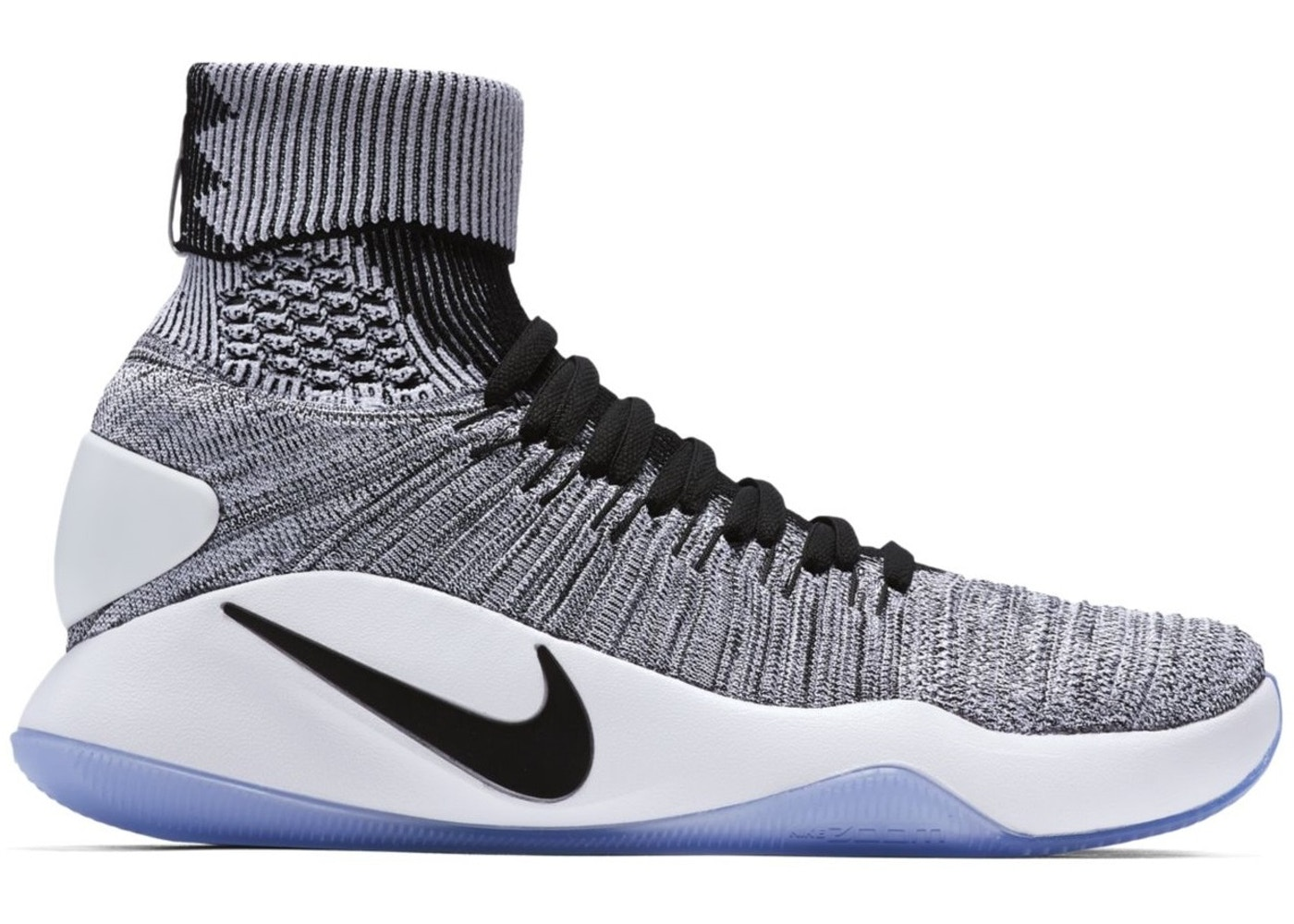 new product f5975 dc2a4 Nike Hyperdunk Flyknit 2016 Oreo - 843390-010