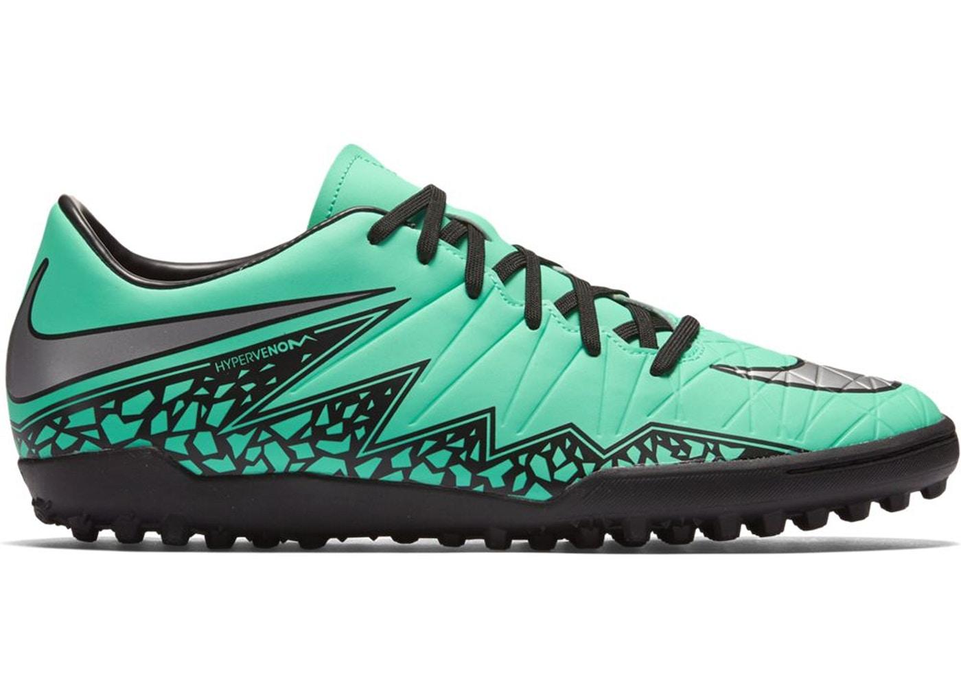 save off 0d76e cee22 Nike Hypervenom Phelon II TF Green Glow