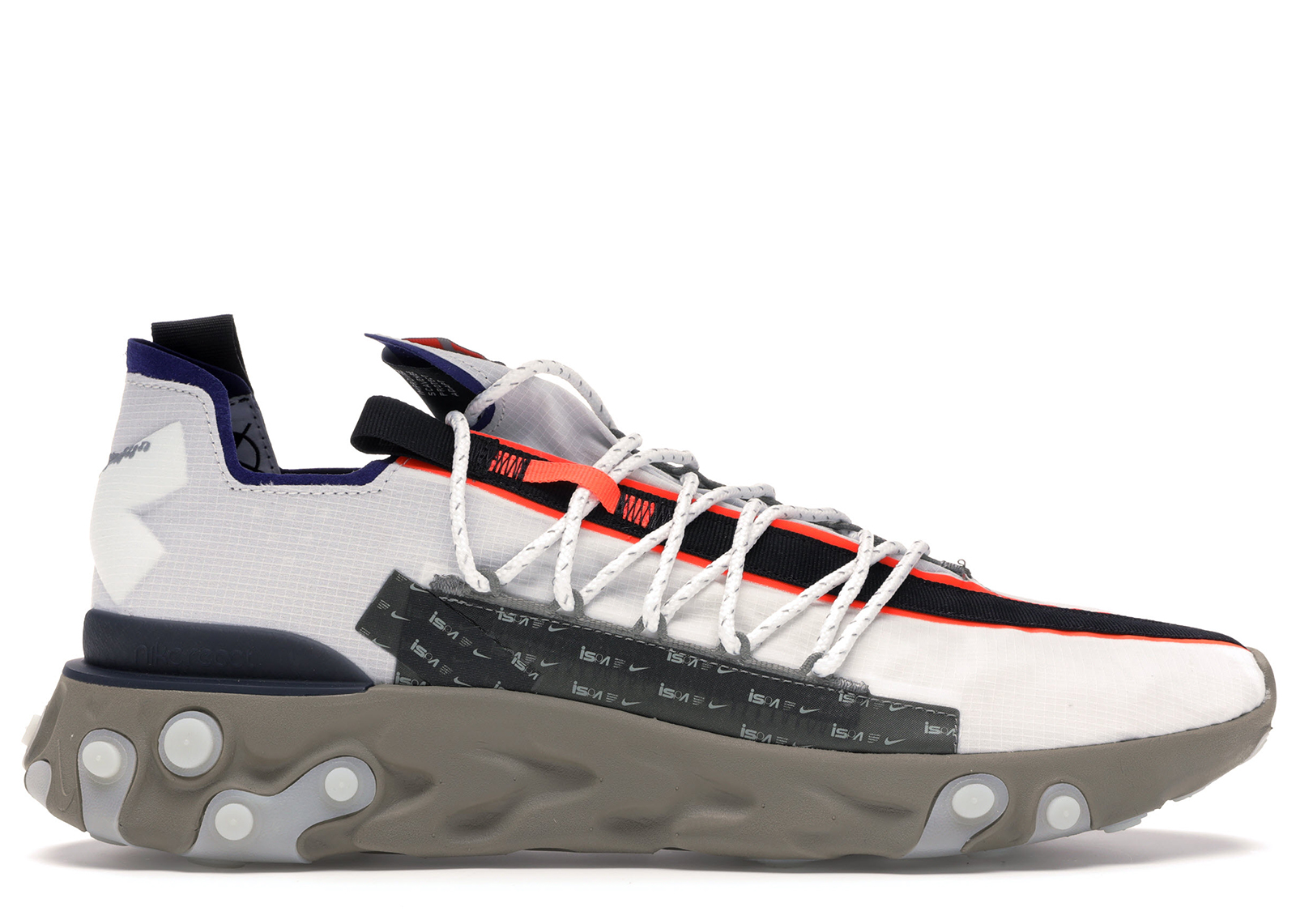 Nike ISPA React Low Summit White