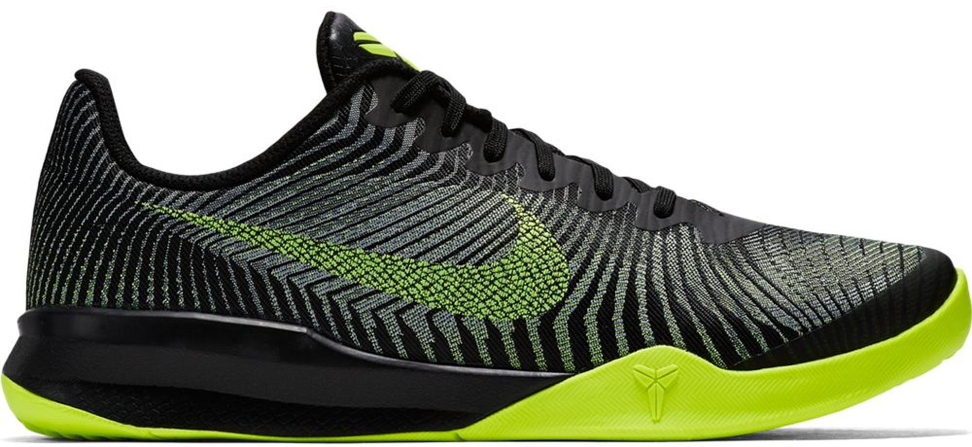 Nike KB Mentality 2 Black Volt Wolf