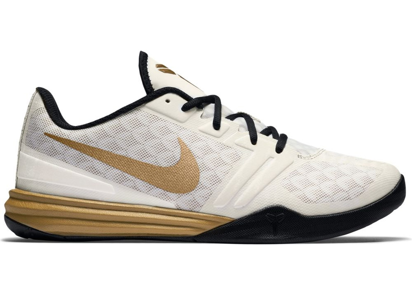 3e53d73444d5 Sell. or Ask. Size --. View All Bids. Nike KB Mentality White Metallic Gold  Black