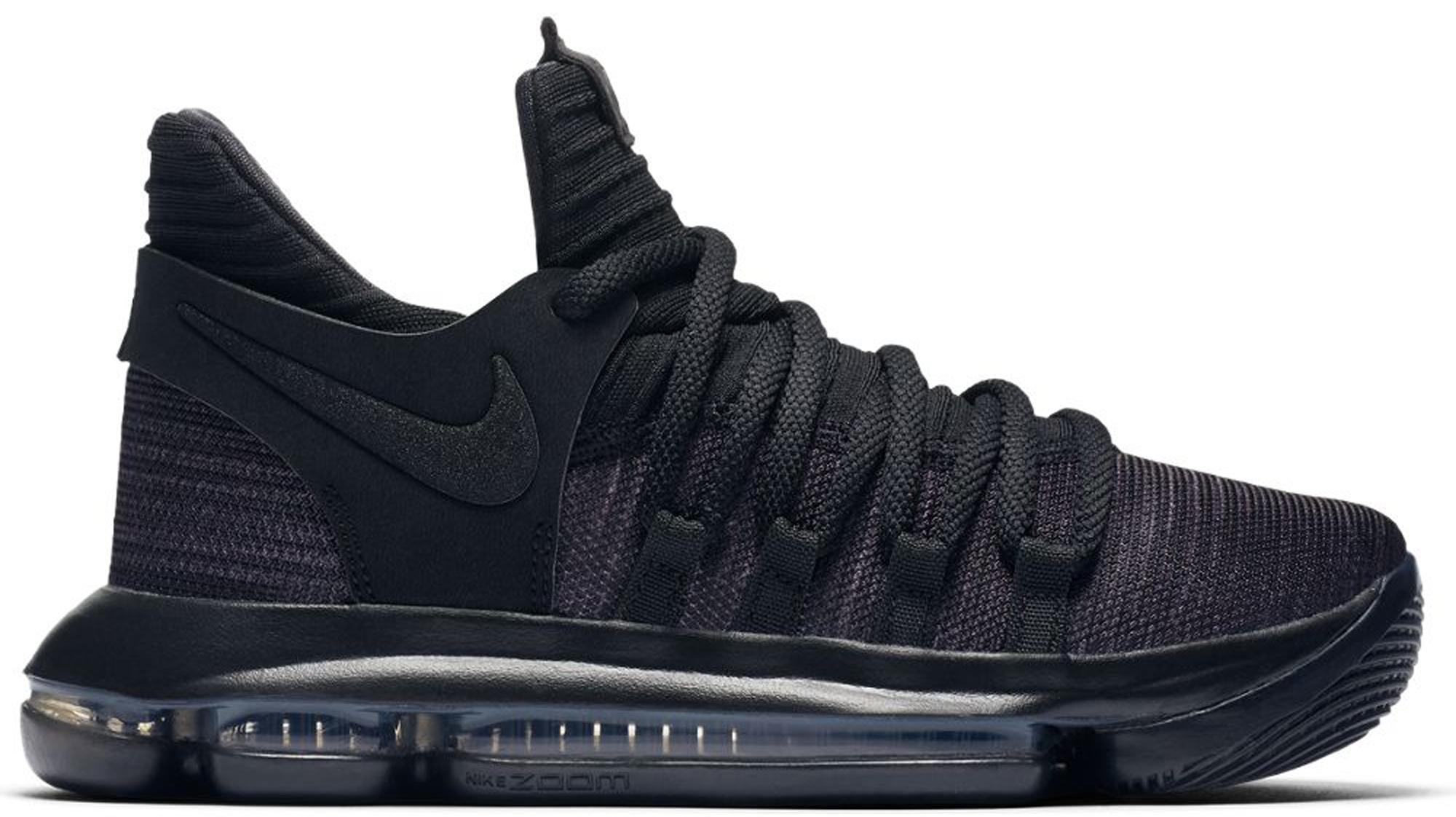 Nike KD 10 Blackout (GS) - 918365-004