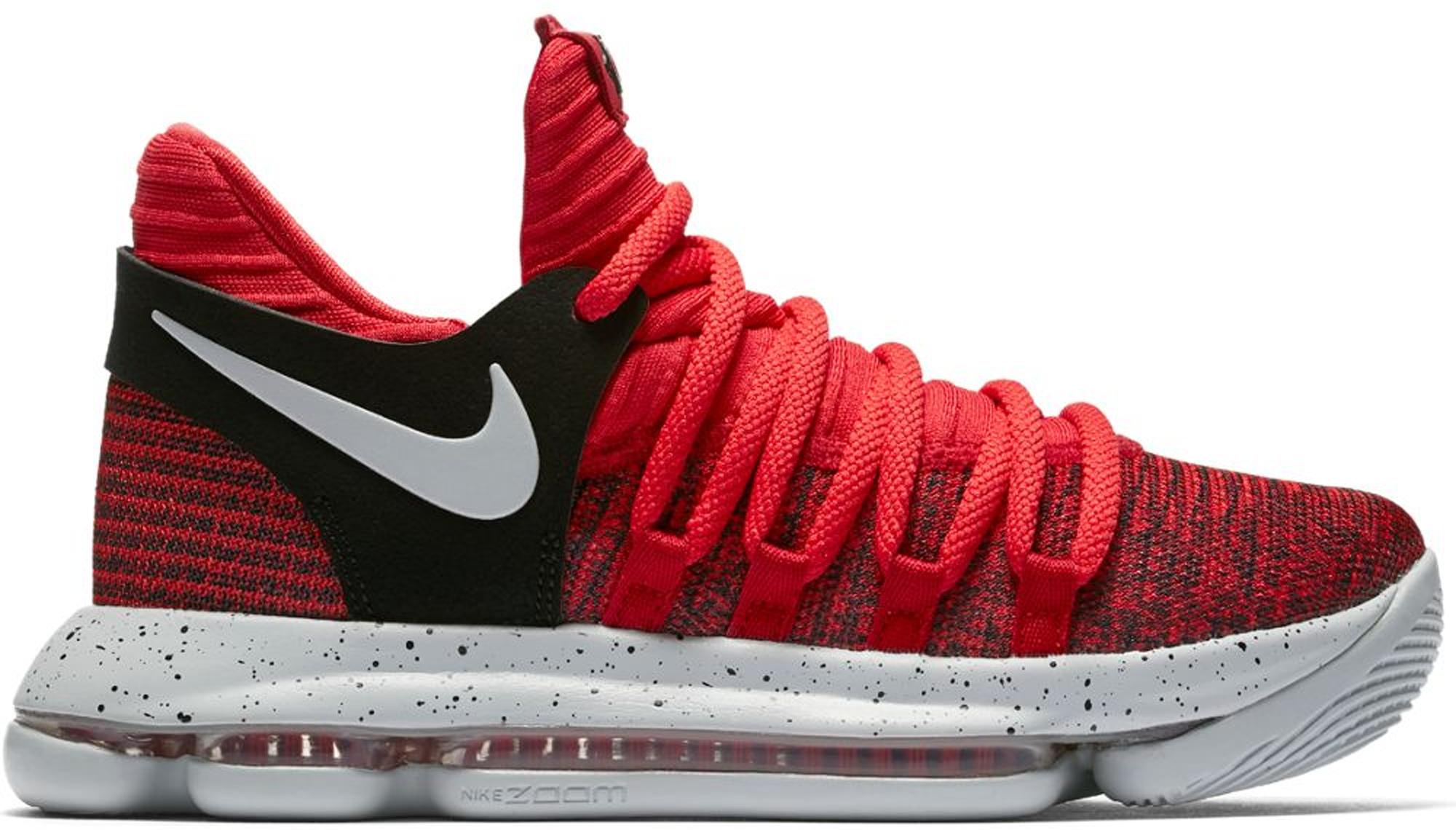 Nike KD 10 University Red (GS) - 918365-600