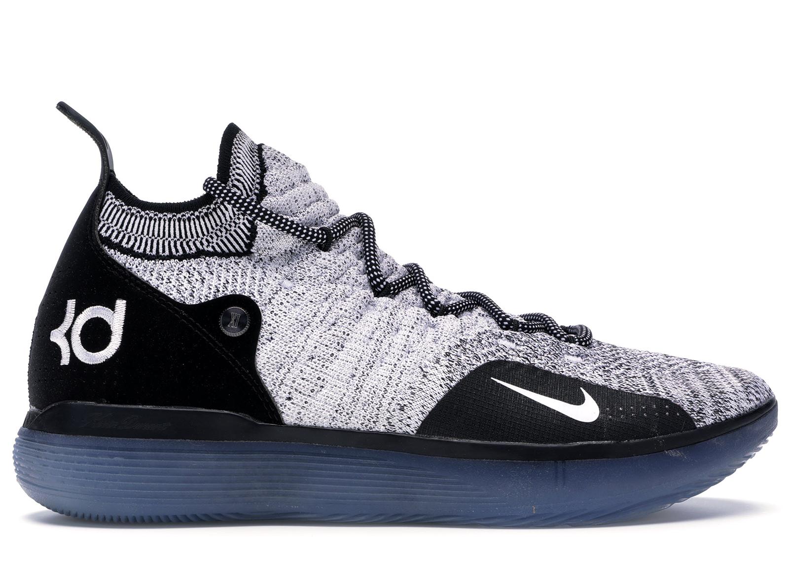 Nike KD 11 Black White Racer Blue