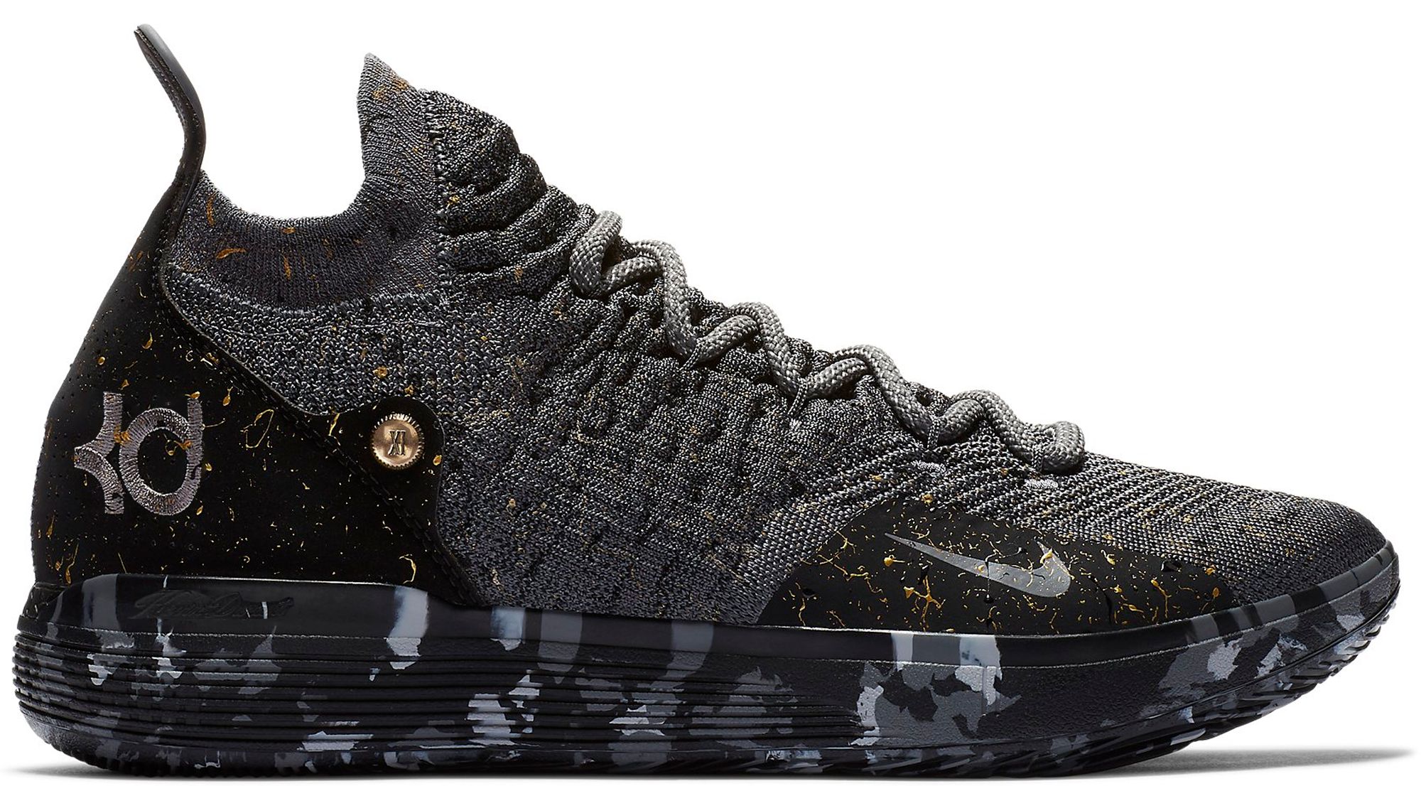 KD 11 Multi-Color Metallic Gold