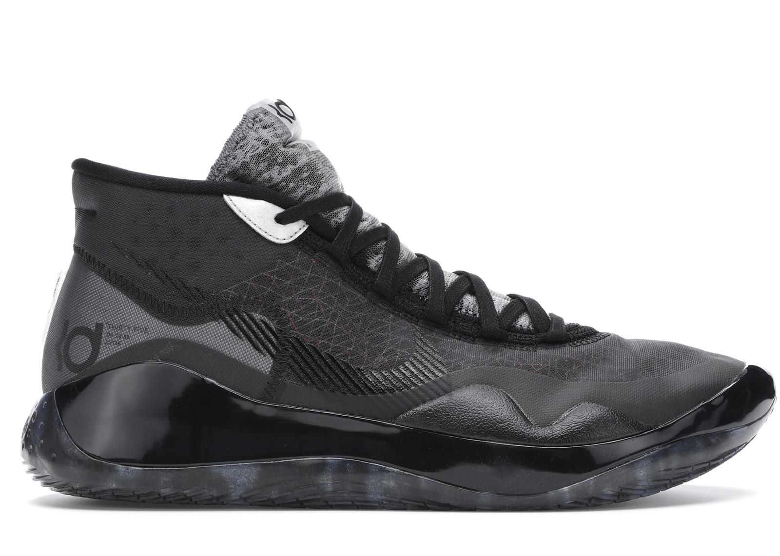 Nike KD 12 Black Cool Grey - AR4230-003