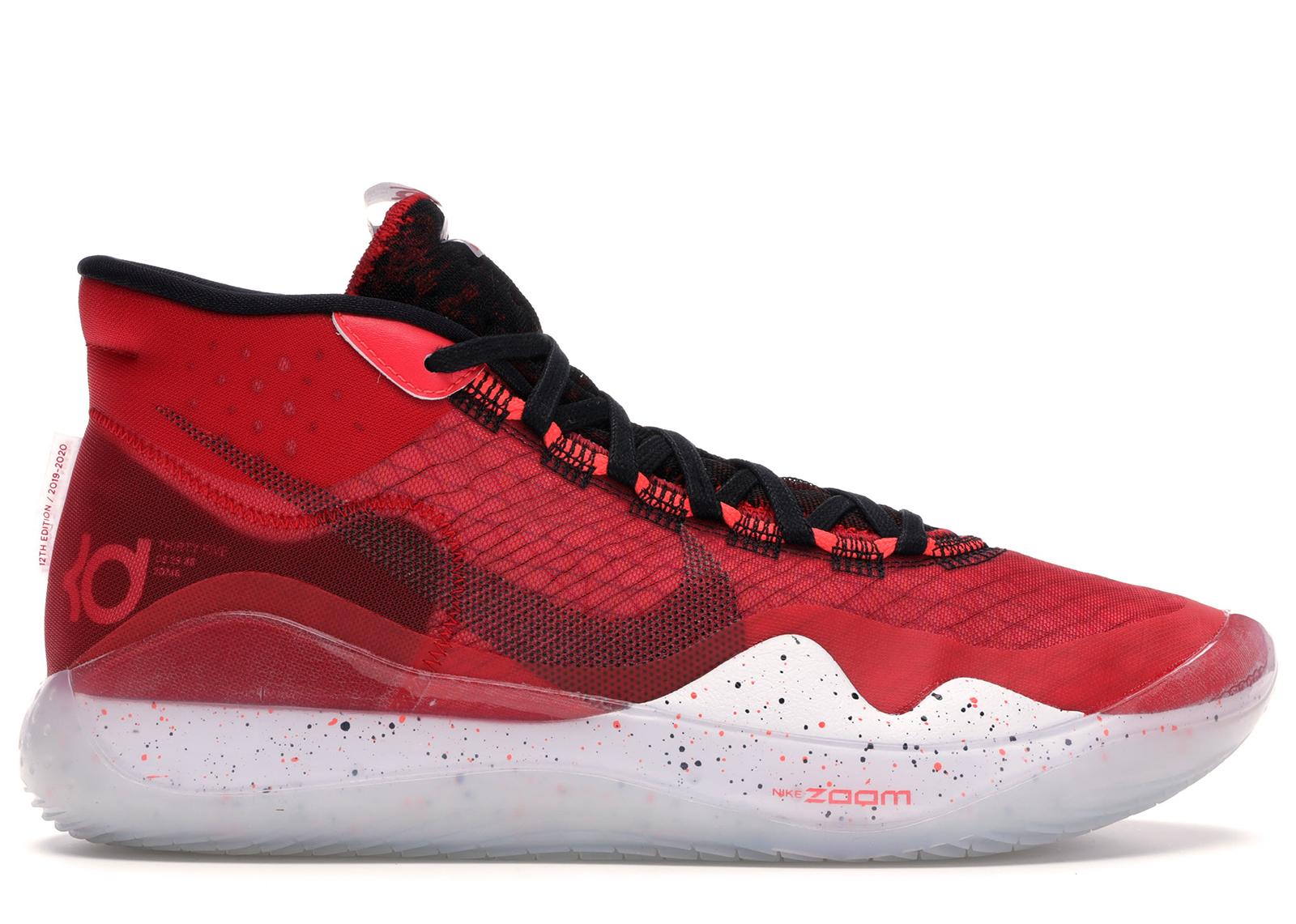 Nike KD 12 University Red - AR4229-600