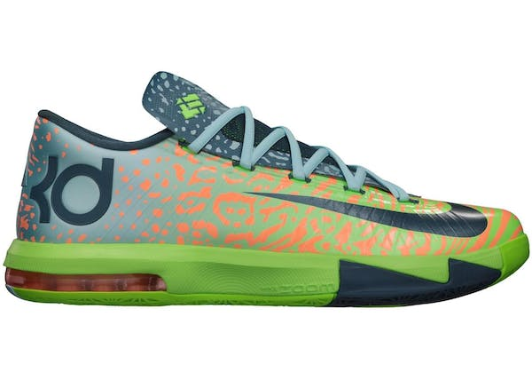 quality design ae302 69006 ... Size 12 NIB Electric Green Nike KD 6 Liger Cool Basketball Shoes KD 6  Buy and Sell Authentic Shoes ...