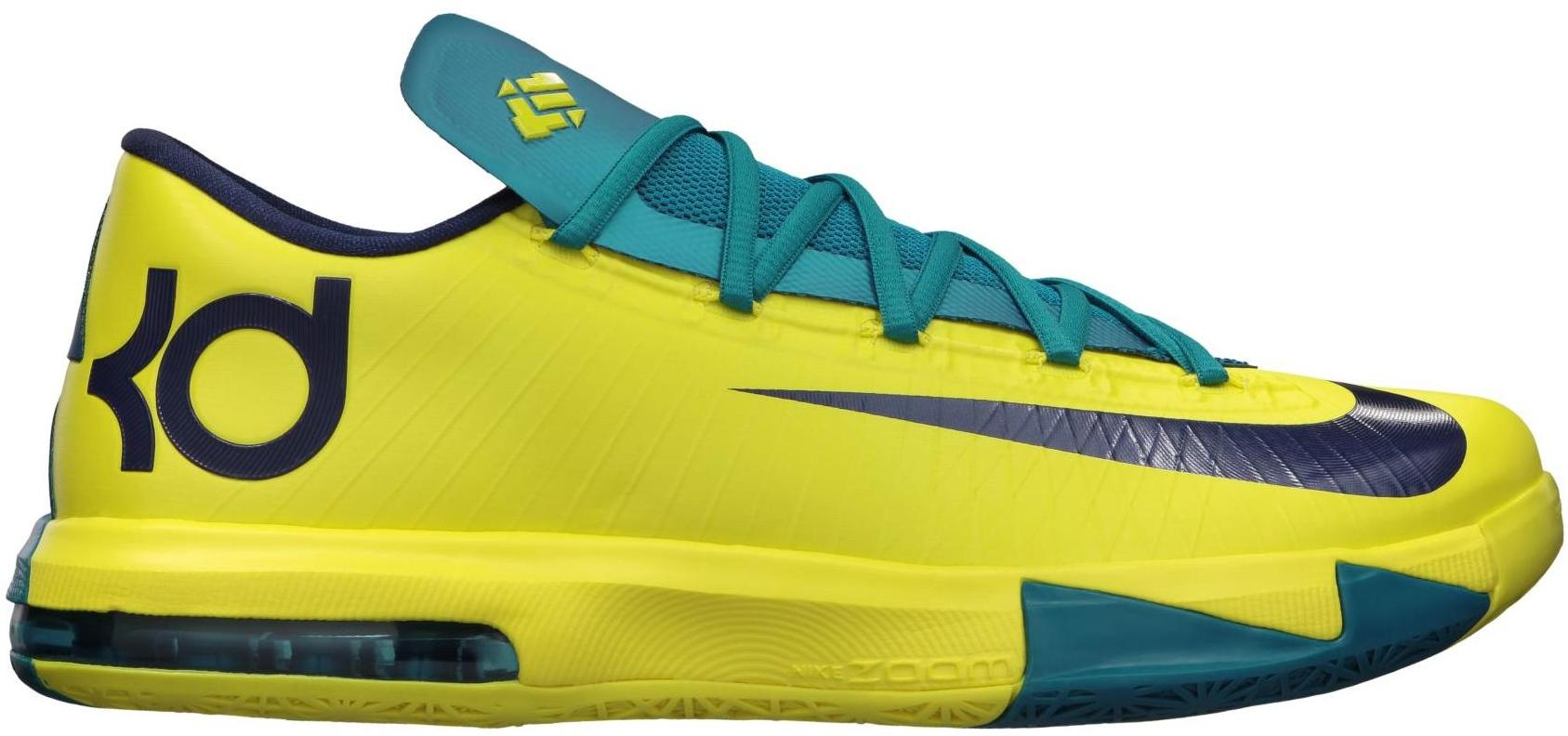 Nike KD 6 Seat Pleasant - 599424-700