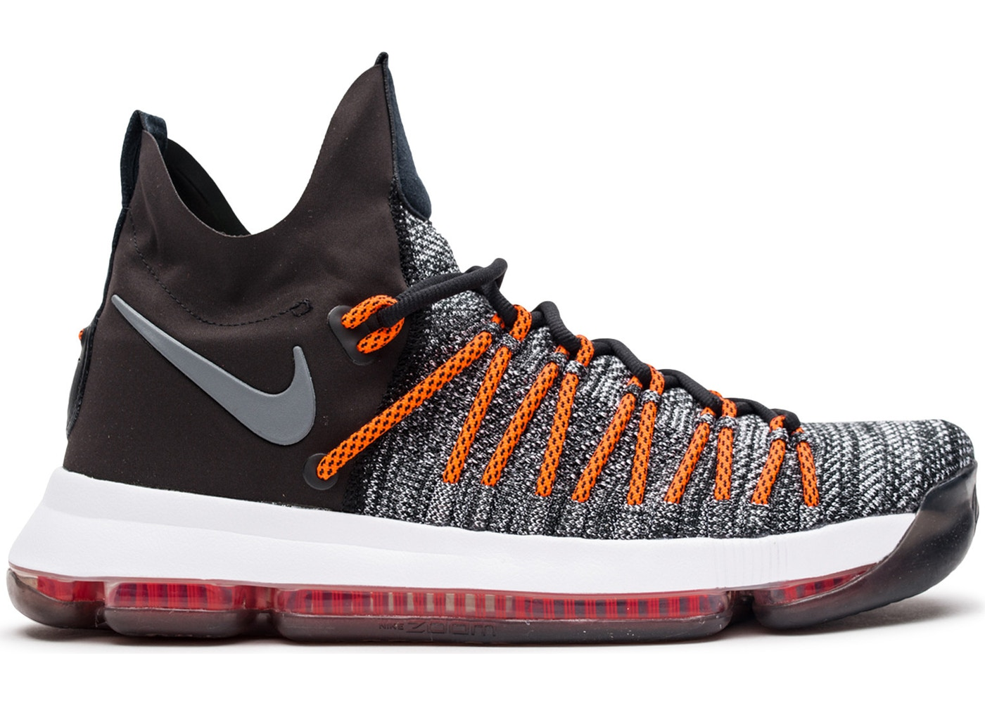uk availability 1903a 01b2c KD 9 Elite Dark Grey Hyper Orange - 878637-010