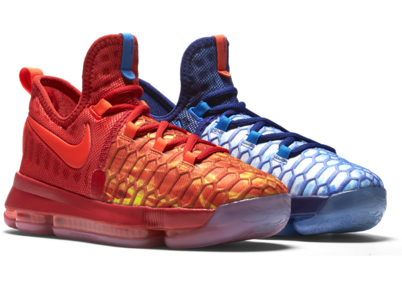 Nike KD 9 Fire and Ice (GS) - 855908-400