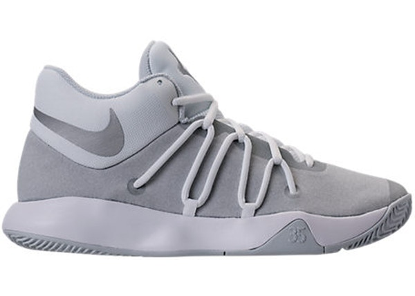 hot sales c4210 6a21f KD Trey 5 V White Pure Platinum