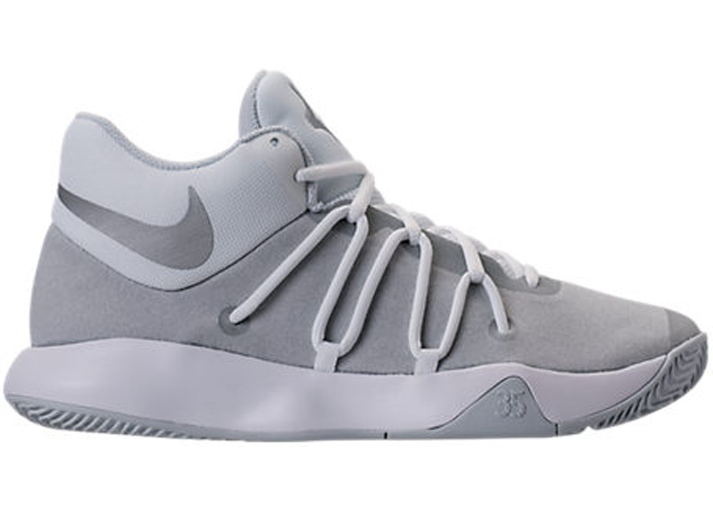 new product ebd98 feed4 KD Trey 5 V White Pure Platinum - 897638-100