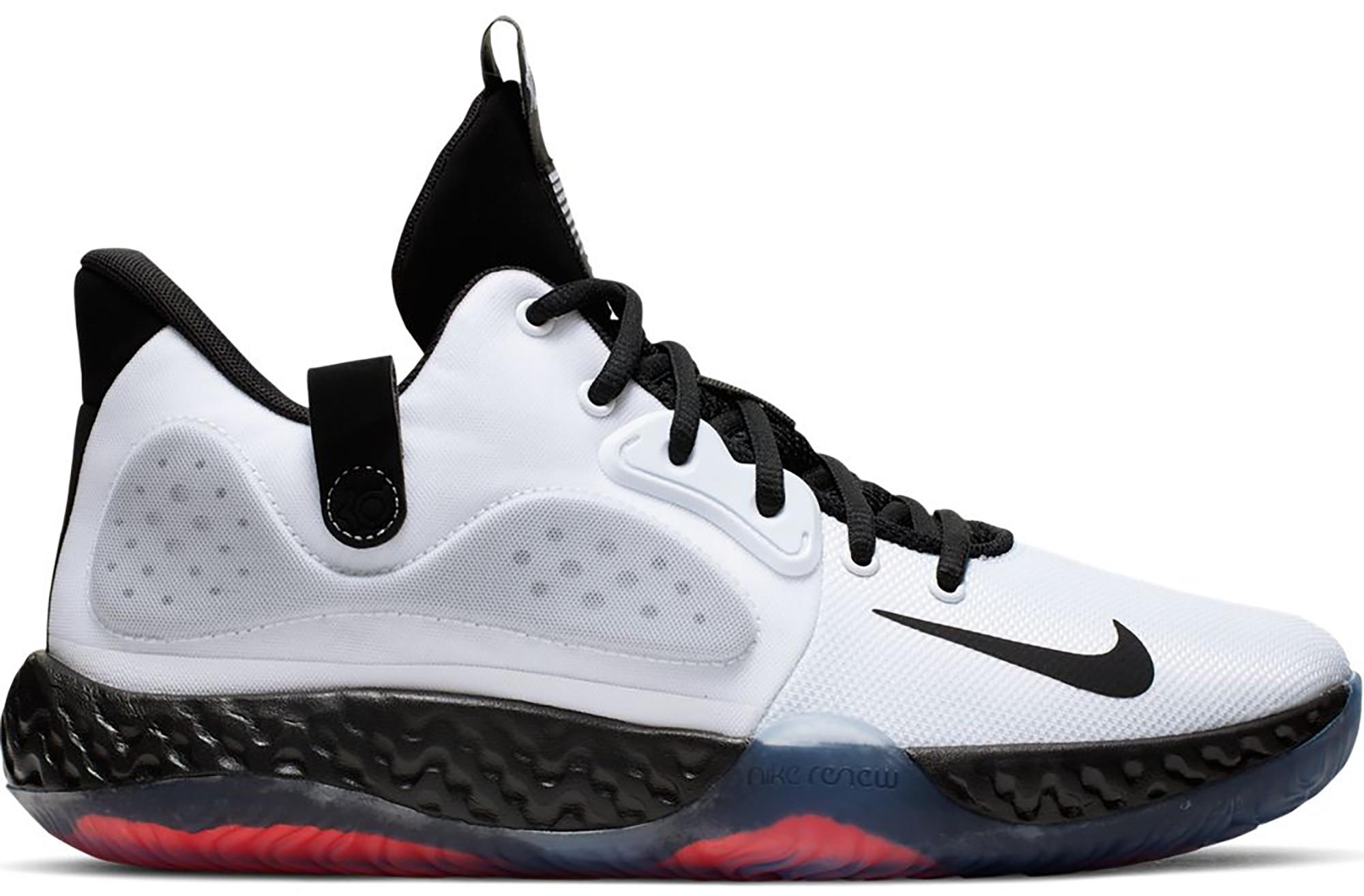 Nike KD Trey 5 VII White Bright Crimson
