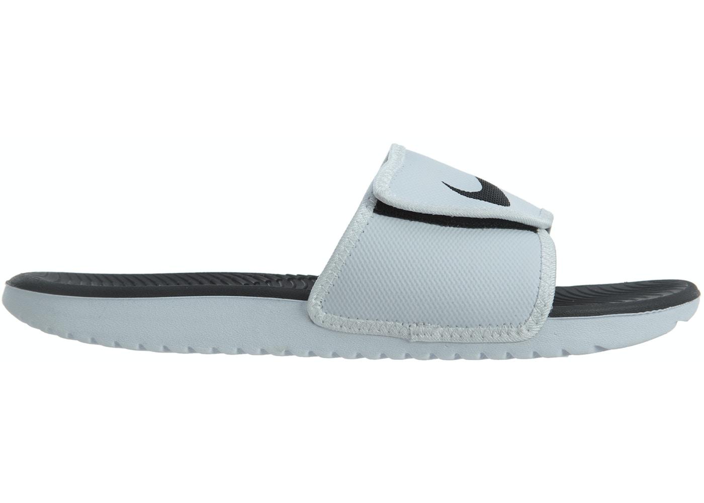 6ee6f162830d Nike Kawa Adjust White Black-White - 834818-101