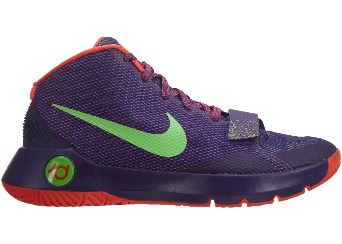 ce704a2770cc3 Nike Kd Trey 5 Iii Court Purple   Green Strike-Bright Crimson ...