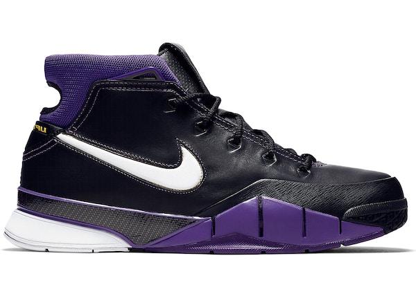size 40 4cd8e d61d0 Kobe 1 Protro Purple Reign