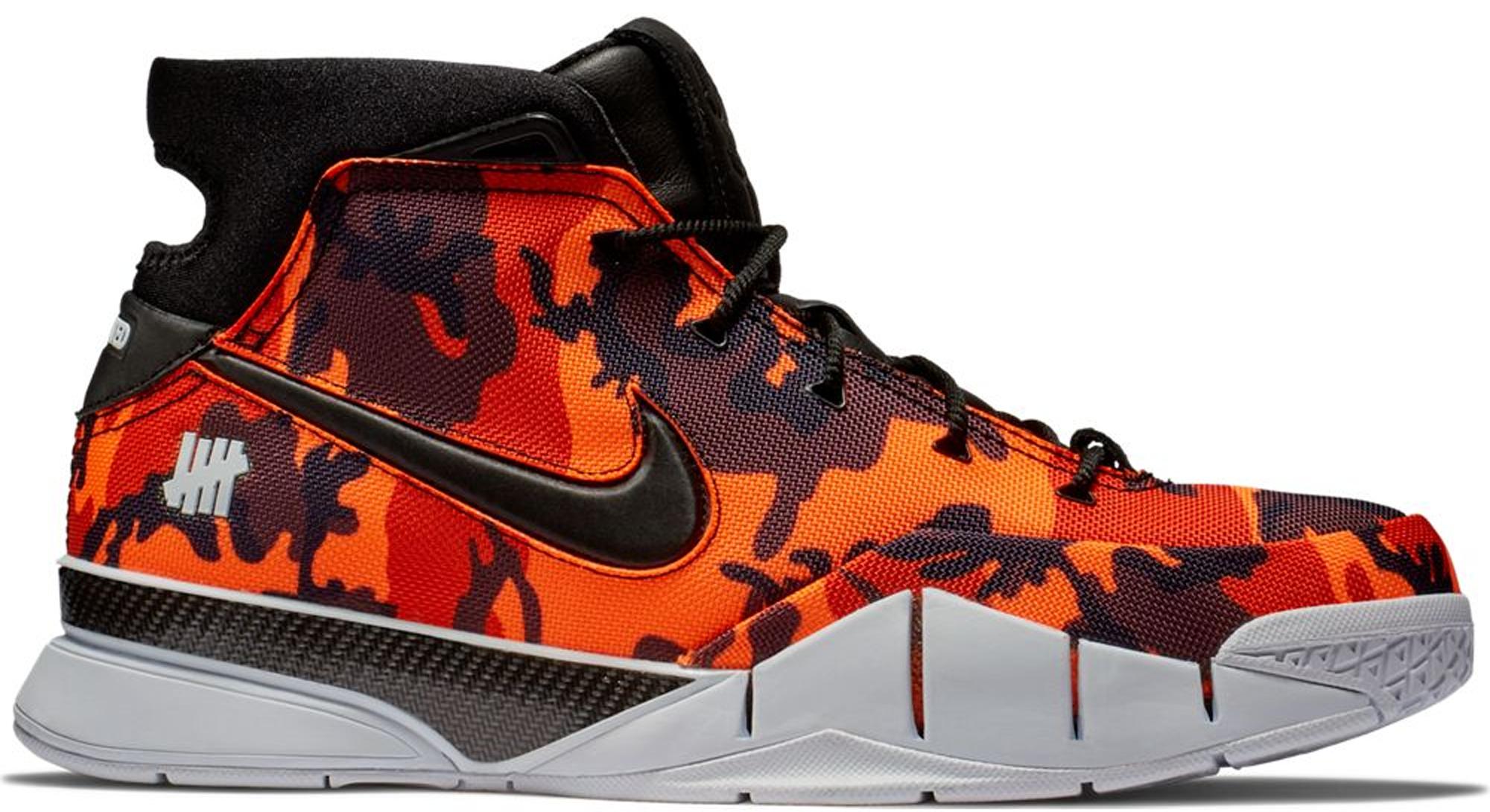 Nike Kobe 1 Protro Undefeated Orange