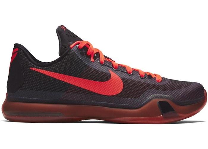 Kobe 10 Bright Crimson