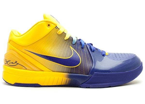 sports shoes f6e74 d6c10 Kobe 4 Four Rings