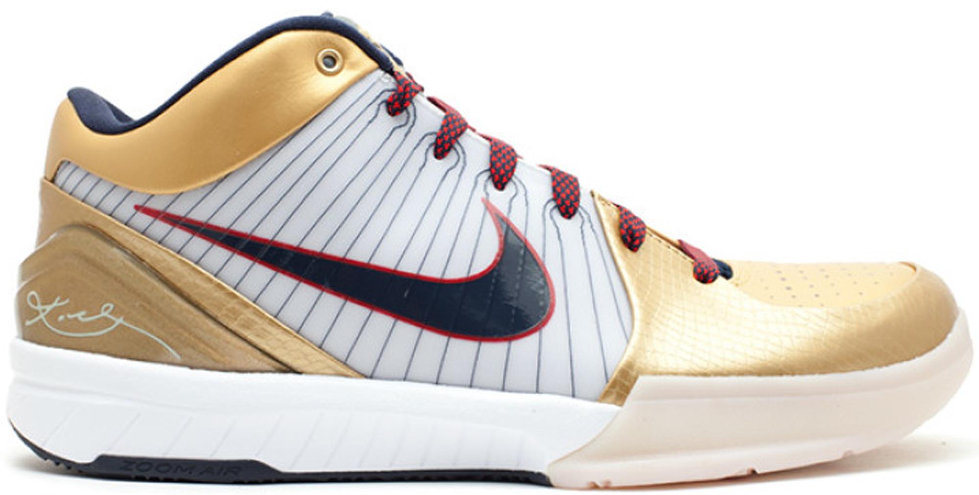 Nike Kobe 4 Gold Medal - 344335-141