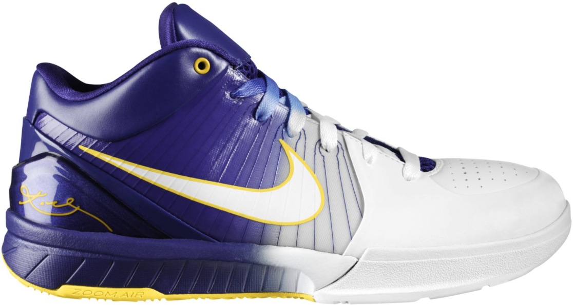 Nike Kobe 4 Gradient Home - 344335-113